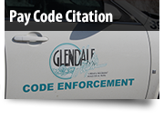 Pay Code Enforcement Citation